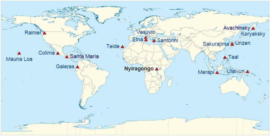 Cartina Vulcani Nel Mondo.Il Risveglio Del Calbuco Uno Dei Piu Pericolosi Vulcani Cileni Articoli Dea Live Geografia