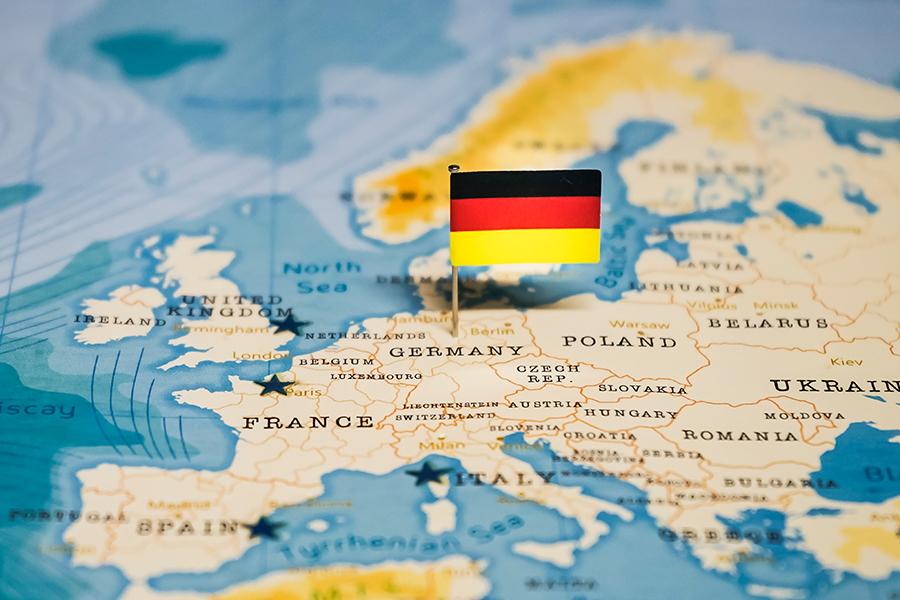 Cartina Fisica Muta Germania.L Europa Centrale Una Lezione Per La Didattica A Distanza Articoli Dea Live Geografia