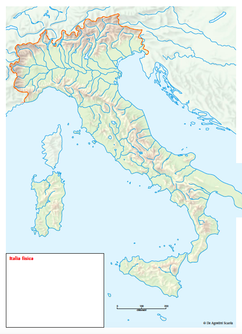 Cartina Geografica Europa Fisica Da Stampare.Fare Geo Con Le Carte Mute 10 Proposte Didattiche Per Esplorare Il Mondo Articoli Dea Live Geografia