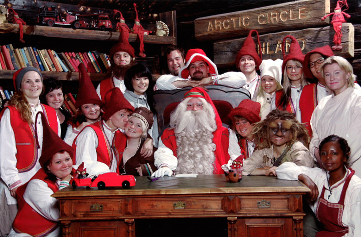 Babbo Natale E Gli Elfi.Il Paese Di Babbo Natale Articoli Geografia