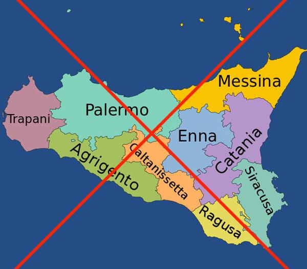 la sicilia ha perso le sue province articoli geografia