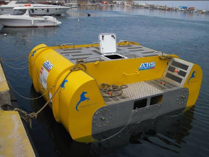 6f980334ca0 Ad agosto a Pantelleria è partita la sperimentazione del nuovo sistema per  la produzione di energia da moto ondoso. Il progetto messo a punto in  Italia ...